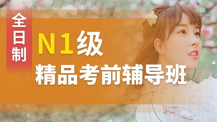 N1级全日制考前日语精品强化班