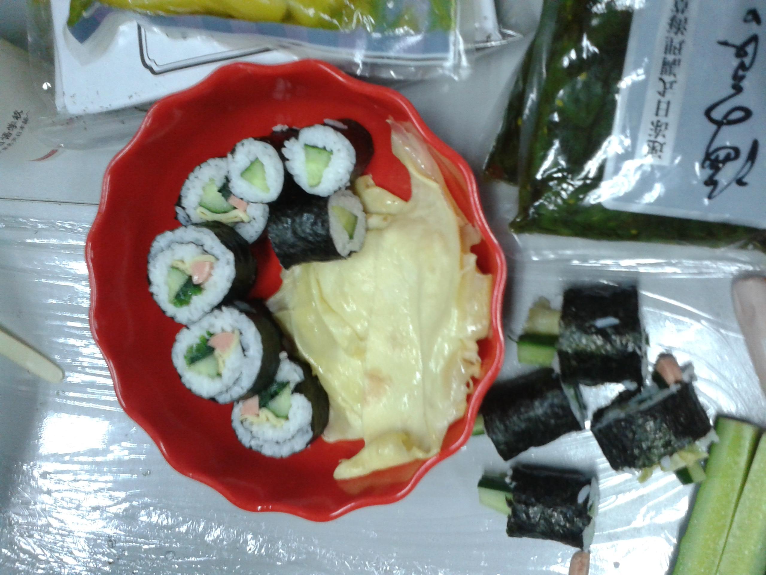 沙龙课:寿司DIY